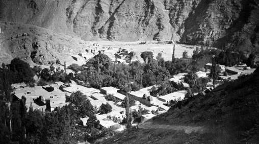Takur, in the north of Iran, where the family of Bahá'u'lláh had a house.