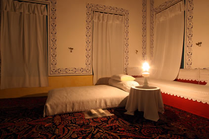 Room where Bahá'u'lláh passed away in 1892.