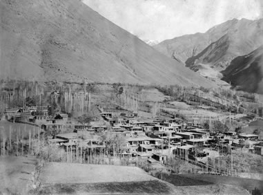The village of Afchih, near Tehran.